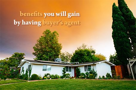 Benefits you will gain by having the buyer's agent on your side for your investment