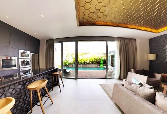 Exclusive 3 bedroom villa at Seminyak that you should get or rent when your family in Bali